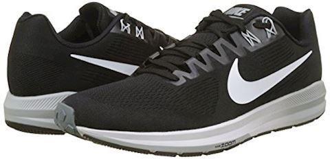 Nike Air Zoom Structure 21 Men's Running Shoe - Black Image 5