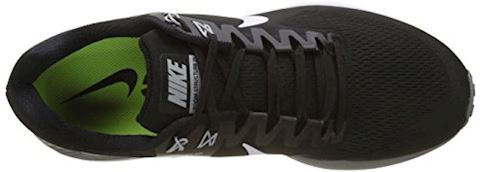Nike Air Zoom Structure 21 Men's Running Shoe - Black Image 7