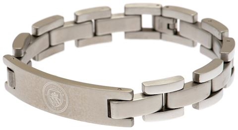 Stainless Steel Manchester City Crest Bracelet Image