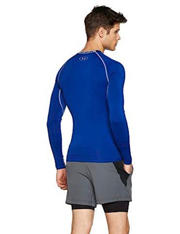 Under Armour Men's UA HeatGear Armour Long Sleeve Compression Shirt Image 2