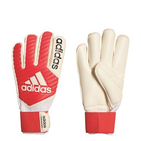 adidas Goalkeeper Gloves Classic Gun Cut - Real Coral/White Image 4