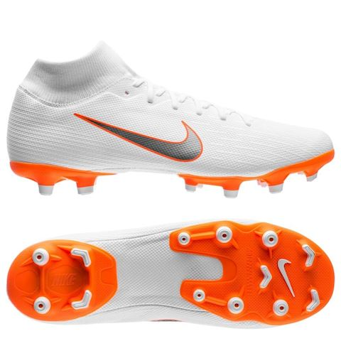 huge selection of 14785 1210b Nike Mercurial Superfly VI Academy MG Multi-Ground Football Boot - White