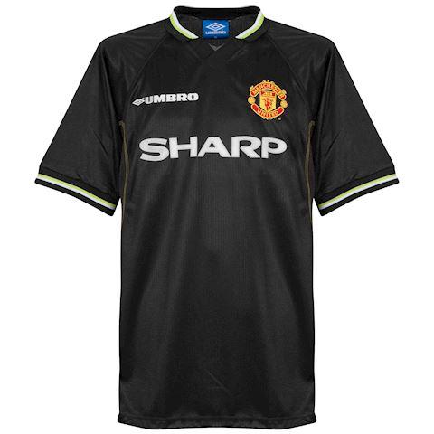 Umbro Manchester United Mens SS Third Shirt 1998/99 Image