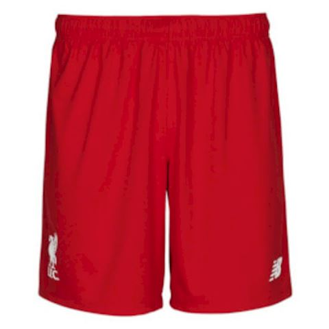 New Balance Liverpool Kids Home Shorts 2015/16 Image