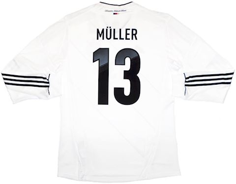adidas Germany Mens LS Player Issue Home Shirt 2012 Image