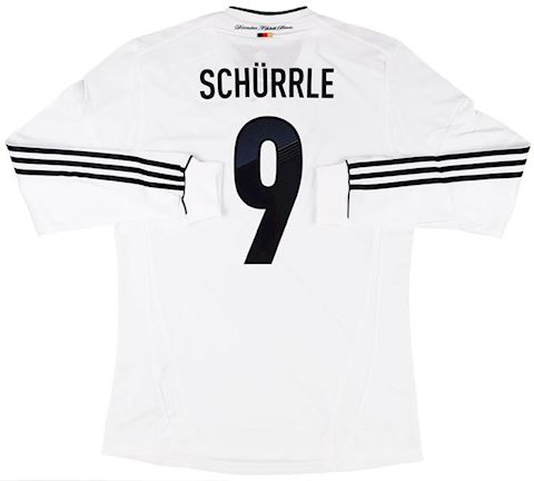 adidas Germany Mens LS Player Issue Home Shirt 2012 Image 4