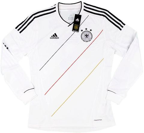 adidas Germany Mens LS Player Issue Home Shirt 2012 Image 8