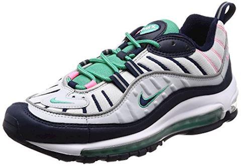 Nike Air Max 98 Men's Shoe - Silver Image