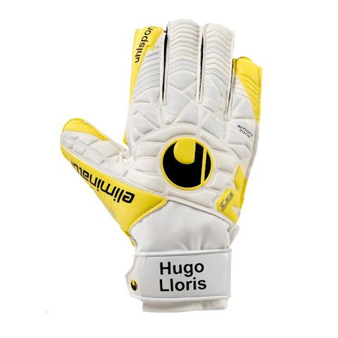 c3d2e6fdbc9 Uhlsport Goalkeeper Gloves Eliminator Lloris Soft Advanced - White/Lite  Flue Yellow/Griffin Image