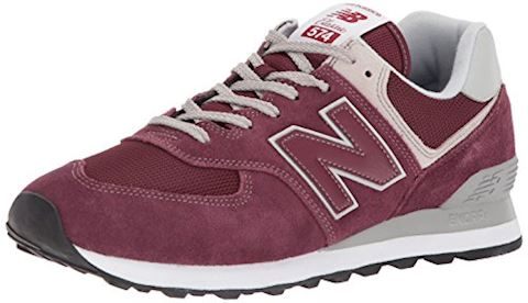 New Balance  ML574  women's Shoes (Trainers) in Red