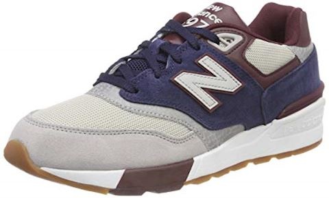 New Balance  ML597  men's Shoes (Trainers) in Blue Image