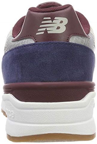 New Balance  ML597  men's Shoes (Trainers) in Blue Image 2