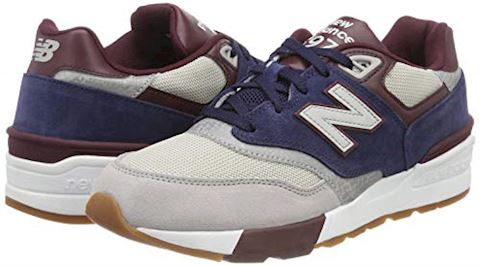 New Balance  ML597  men's Shoes (Trainers) in Blue Image 5