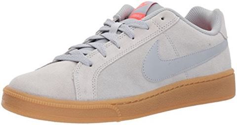 Nike Court Royale Suede - Wolf Grey/Solar Red Image