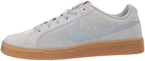 Nike Court Royale Suede - Wolf Grey/Solar Red Image 5