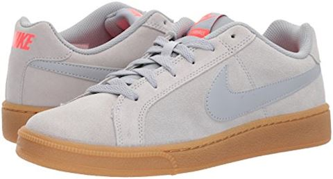 Nike Court Royale Suede - Wolf Grey/Solar Red Image 6