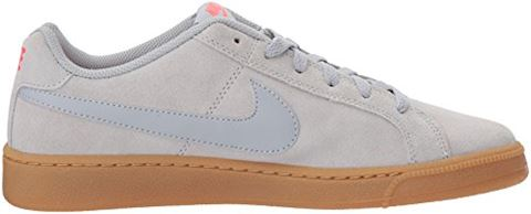 Nike Court Royale Suede - Wolf Grey/Solar Red Image 7