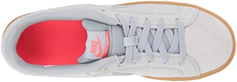 Nike Court Royale Suede - Wolf Grey/Solar Red Image 8