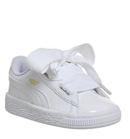 Puma Basket Heart Patent - Baby Shoes Image 2