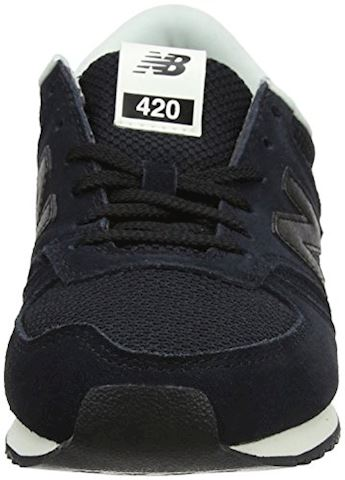 New Balance  WL420  women's Shoes (Trainers) in Black Image 4