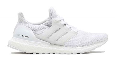 adidas Ultra Boost 3.0 Triple White Mens Trainers