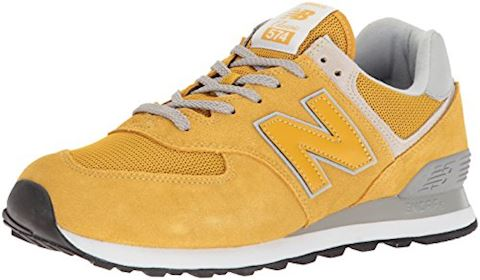 New Balance  ML574  women's Shoes (Trainers) in Yellow