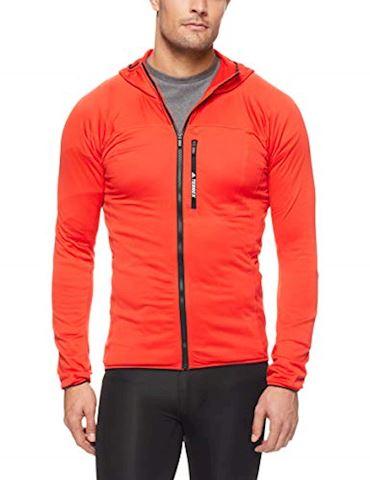 adidas TraceRocker Hooded Fleece Jacket Image