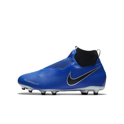 Nike Jr. Phantom Vision Academy Dynamic Fit Younger/Older Kids'Multi-Ground Football Boot - Blue Image
