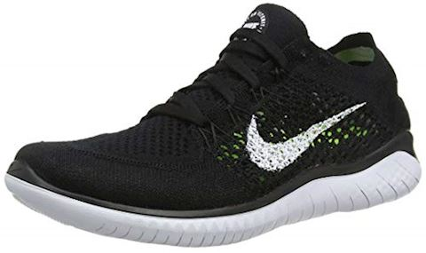Nike Free RN Flyknit 2018 Women's Running Shoe - Black Image
