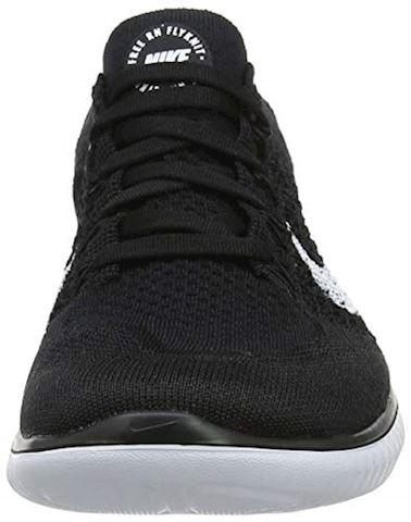 Nike Free RN Flyknit 2018 Women's Running Shoe - Black Image 4