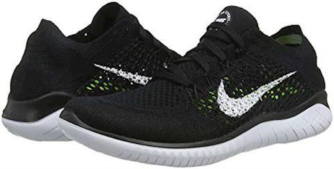 Nike Free RN Flyknit 2018 Women's Running Shoe - Black Image 5