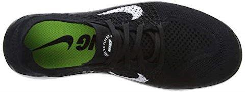 Nike Free RN Flyknit 2018 Women's Running Shoe - Black Image 7