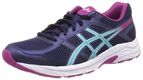Asics  GEL-CONTEND 4  women's Running Trainers in Blue Image