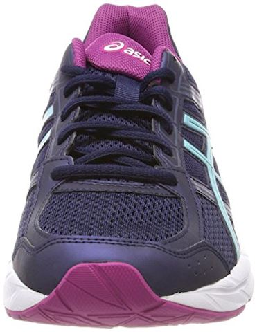 Asics  GEL-CONTEND 4  women's Running Trainers in Blue Image 4