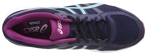 Asics  GEL-CONTEND 4  women's Running Trainers in Blue Image 6