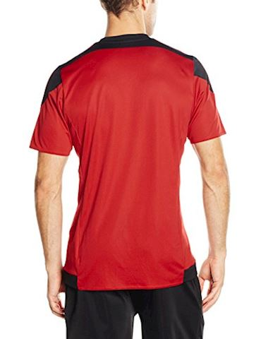 adidas Striped 15 SS Jersey Power Red Black Image 2
