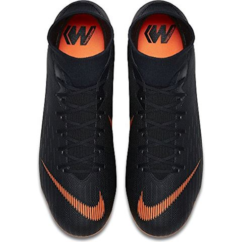 Nike Mercurial Superfly VI Academy MG Multi-Ground Football Boot - Black Image 6