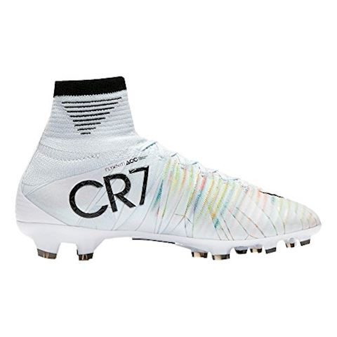 Nike Jr. Mercurial Superfly V CR7 Dynamic Fit Younger/Older Kids'Firm-Ground Football Boot - White Image 2