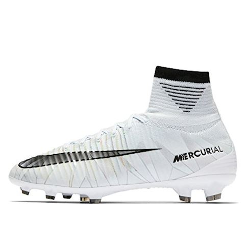 Nike Jr. Mercurial Superfly V CR7 Dynamic Fit Younger/Older Kids'Firm-Ground Football Boot - White Image 4