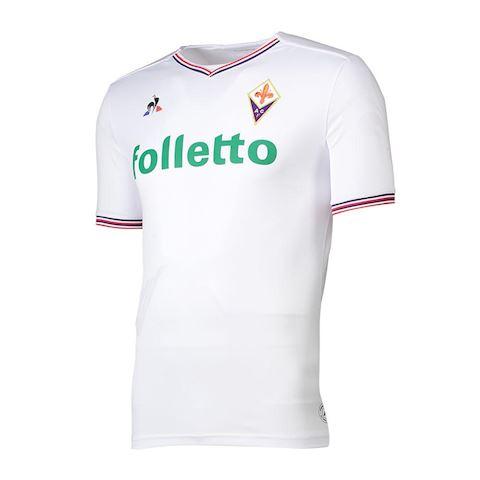 Le Coq Sportif Fiorentina Mens SS Away Shirt 2017 18 Image 69feaad3d