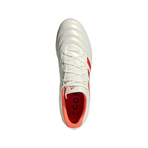 adidas Copa 19.3 AG Initiator - Off White/Solar Red/Core Black Image 12