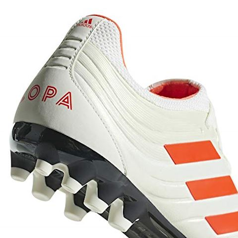 adidas Copa 19.3 AG Initiator - Off White/Solar Red/Core Black Image 15