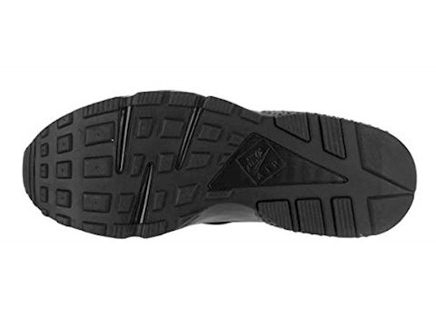 Nike Air Huarache Men's Shoe - Black Image 4