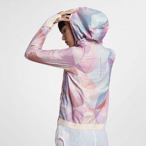 Nike Shield Women's Hooded Running Jacket - Pink Image 3