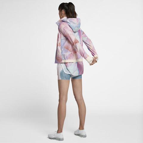 Nike Shield Women's Hooded Running Jacket - Pink Image 4