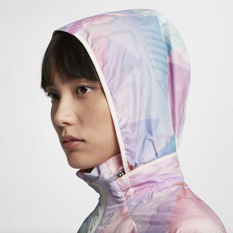 Nike Shield Women's Hooded Running Jacket - Pink Image 5