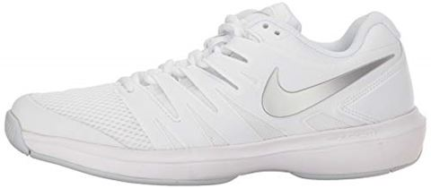 Nike Air Zoom Prestige HC Women's Tennis Shoe - White Image 5