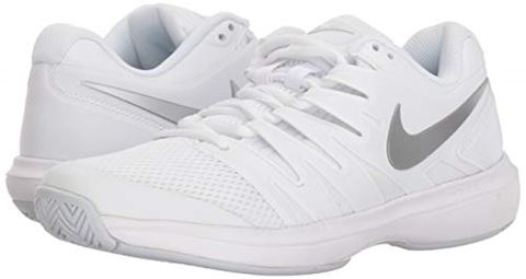 Nike Air Zoom Prestige HC Women's Tennis Shoe - White Image 6