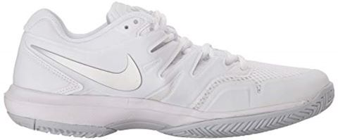 Nike Air Zoom Prestige HC Women's Tennis Shoe - White Image 7