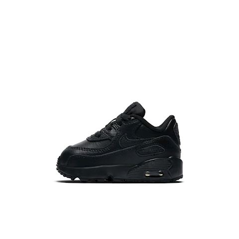 Nike Air Max 90 Leather Baby& Toddler Shoe - Black Image